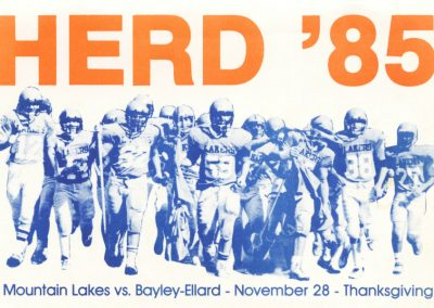 mountain-lakes-herd-football-program-cover-1985-november-28