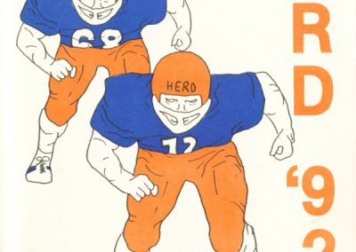 mountain-lakes-herd-football-program-cover-1992-november-14