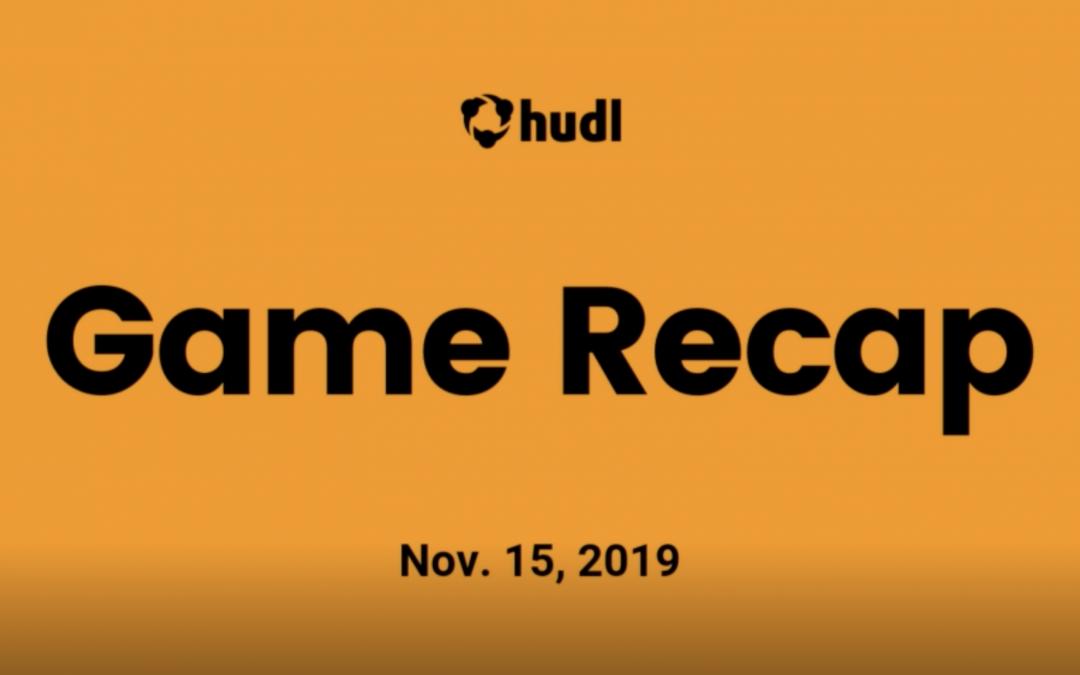Video recap of HERD game vs Parsippany on 11/15/19