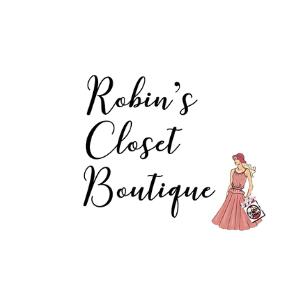 Logo for Robin's Closet Boutique in Boonton, NJ