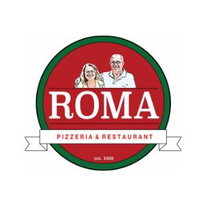 Logo for Roma Pizzeria & Restaurant in Boonton, NJ