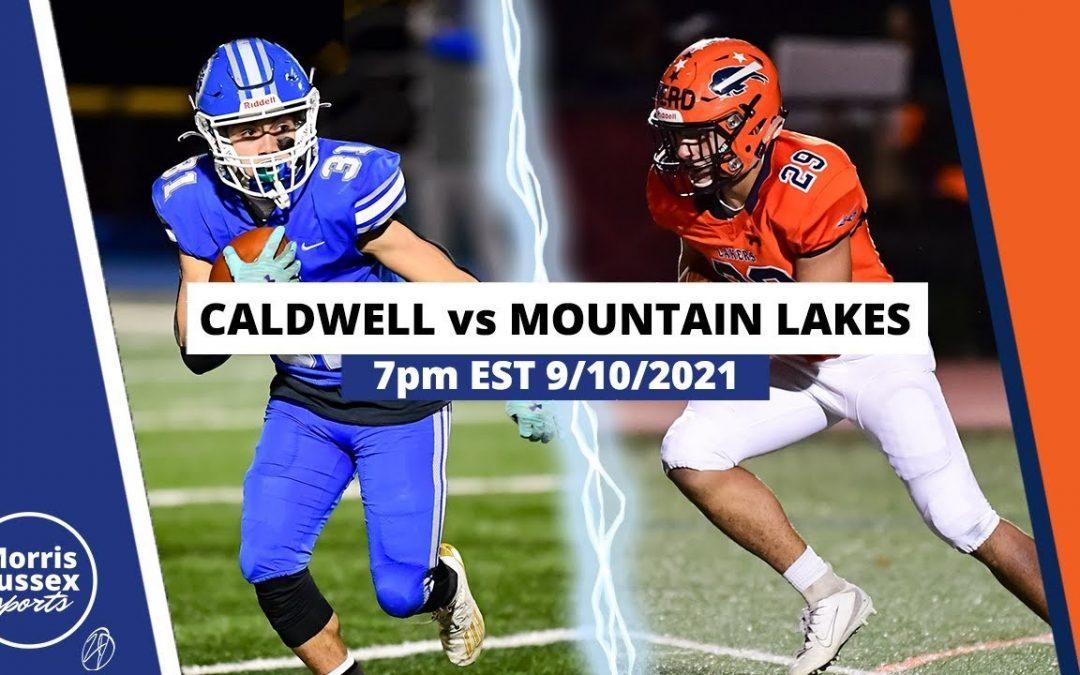 Game Livestream: Mountain Lakes vs. Caldwell 9/10/21
