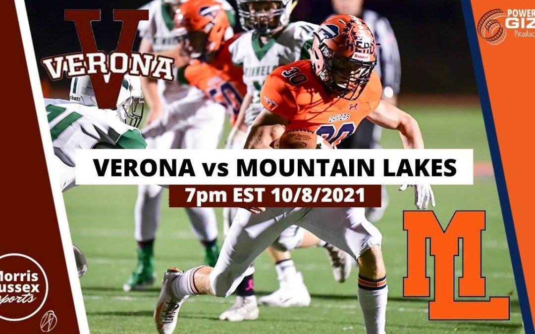 Game Livestream: Mountain Lakes vs. Verona 10/08/21